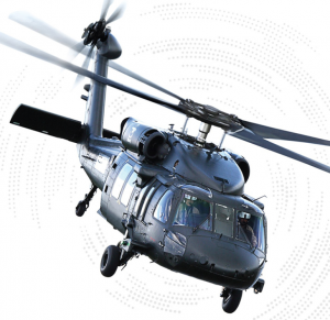 Black Hawk helicopter parts