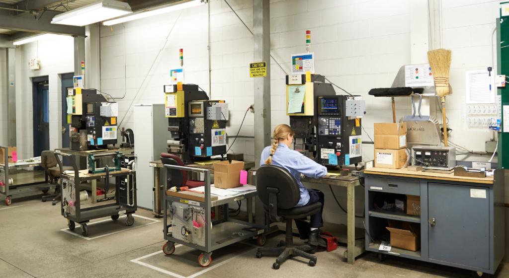 Aerospace production facility