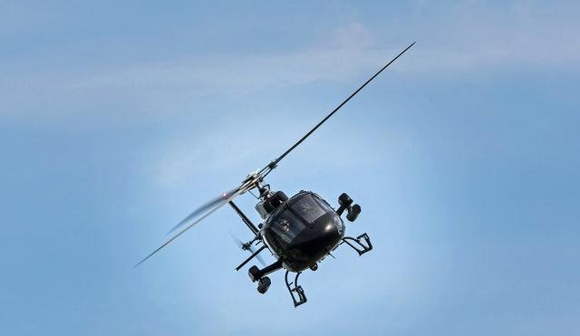 Black Hawk helicopter, hurricane relief